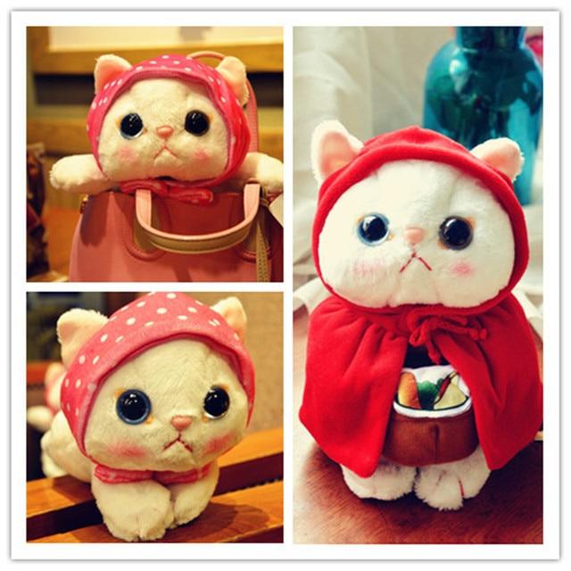 Плюшевая игрушка Японский розовый кот