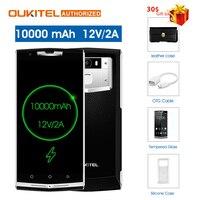 $30 подарок мешок! oukitel k10000 pro 4G мобильный телефон 5,5 ''4G B 6 4G B 10000 мАч 12 В/2A Восьмиядерный Android7.0 16.0MP сзади умный телефон