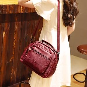Image 5 - 2019 Luxury Handbags Women Bags Designer Soft Leather Bag High Quality Shoulder Crossbody Bag Women Casual Tote Bags Sac a Main