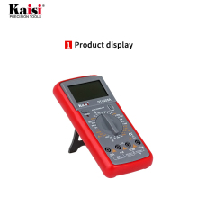 kaisi DT-9205A Professional LCD Digital Multimeter Electrical Handheld Tester Multimetro Ammeter Multitester