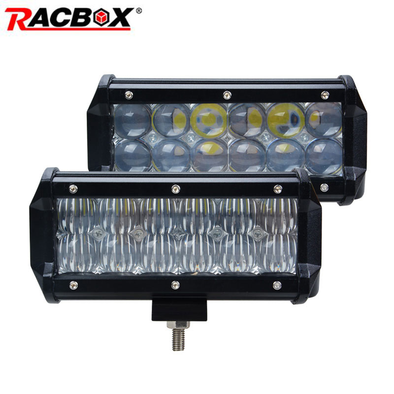 2pcs 5D 36W 7 Inch LED Light Bar for Automobile Work Indicator Driving Offroad Tractor Truck 4x4 ATV SUV MPV GAZ 12V Car Styling датчик delphi 2808 6011 mpv suv