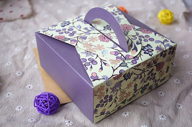 40 Free Shipping 40pcslot Portable Paper Cake Packaging Box Best Decorator Boxes