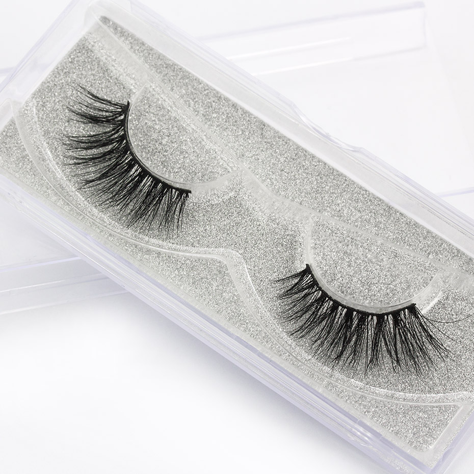 d887f8babe0 VICILEY Mink eyelashes Handmade false eyelashes mink cilios soft lashes  natural fake Eye Extension makeup D014-in False Eyelashes from Beauty &  Health on ...