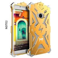 Simon Luxury For Xiaomi Mi Note 2 Phone Cases THOR IRONMAN Shockproof Metal Back Cover Frame