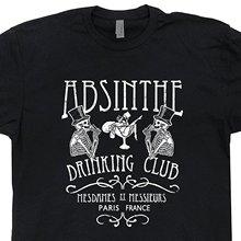 Absinthe Drinking Club men's shirt