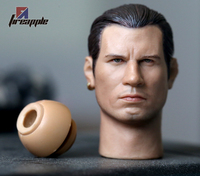 HP headplay John Travolta Little Scorpion Head Sculpt Match Plain Body 1/6 Scale Body Collectible Figures