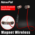 Magnet Wireless Sports Earphones Bluetooth Headset super Bass Stereo in ear earphone headsfree with microphone