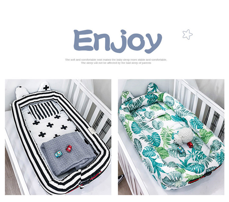 Washable Infant Crib Nursery 12