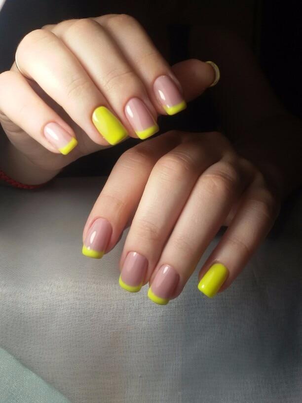 50638 Professional Nails Gel CANNI Nails Art UV LED Gel Neon Paint ...