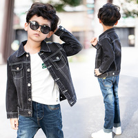 Baby Boys Hole Denim Jackets Coats 2018 Autumn Children Outwear Coat Big Kids Casual Clothes For 4 to 14 Years Old Tee Tops Outwear & Coats