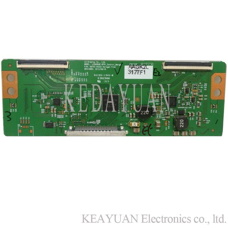 Free Shipping Original 100% Test  For LG  42LN5100-CP 6870C-0452A 0451A Screen LC500DUE-SFR1  Logic Board