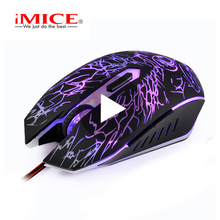 iMice Gaming Mouse Gamer Wired With Backlight Cable Wire Game RGB For Laptop Computer PC Ergonomic USB Mause Rato Raton Player