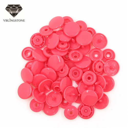 20 комплектов KAM T5 12 мм круглые пластиковые застежки кнопки застежки пододеяльник лист кнопка аксессуары для одежды для детской одежды Зажимы - Цвет: B33