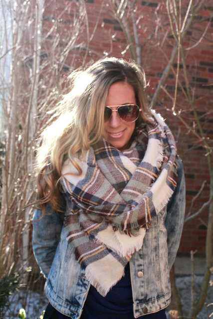 140*140cm Pashmina Plaid Scarf Women Winter Shawls And Scarves Cachecol Woman Casual Tassel Pashmina Cape