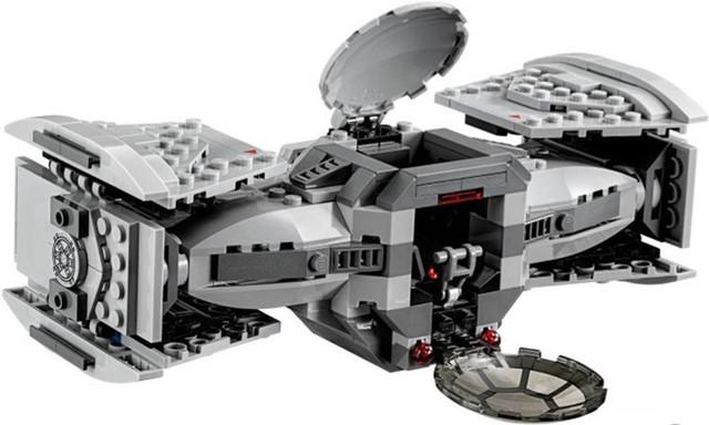 Bevle Store Bela 10373 354pcs star space Series Tie Advanced prototype Building Blocks Bricks Compatible  75082 child Toys