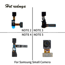 купить Original Face Small Camera Flex For Samsung Galaxy Note 2 3 4 5 8 N7100 N900 N9005 Front Camera Flex Cable Replacement Parts дешево