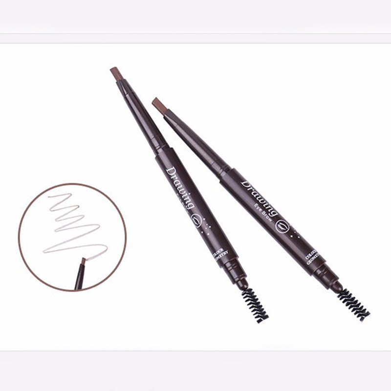 Makeup Auto Eyebrow Pencil With Brow Brush Waterproof Cosmetic Tool HS11