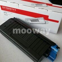 Совместимый цветной тонер-картридж для OKI C711wt C710 C711 цветной тонер-картридж