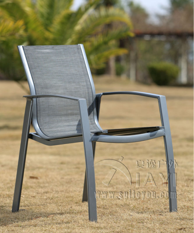 5 Pieces Aluminum And Mesh Fabric Patio Furniture Garden Furniture Outdoor  Furniture Transport By Sea In Garden Chairs From Furniture On  Aliexpress.com ...