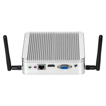 Fanless Mini PC Windows 10 Intel Celeron J1900 Quad Core HDMI VGA 300Mbps WiFi USB3 0