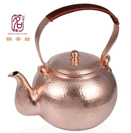 Смягчения воды красный Медь чайник 1.7l свист Чайники
