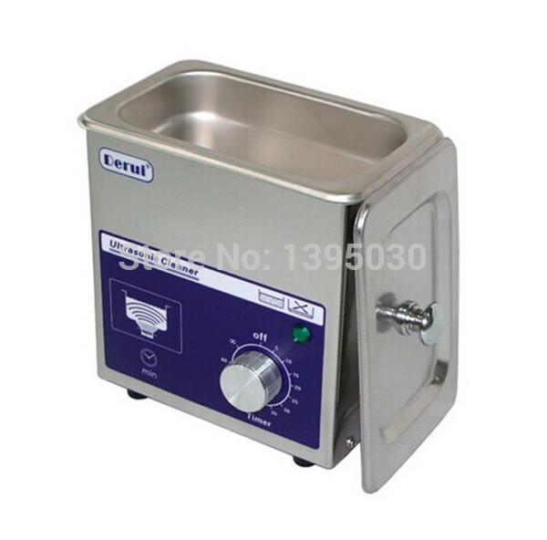 Derui Ultrasonic Cleaner 80W Ultrasonic Washing Machine Jewelry Ultrasonic Cleaners Dental Equipment free basket derui sonic cleaners with multi function water proof dr p40 4l