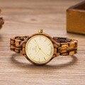 UWOOD Деревянные Часы Женщины Top Brand Роскошные Легкие Натуральные Деревянные Женщины Мода Наручные Часы Дамы Кварцевые Часы Relojes Mujer