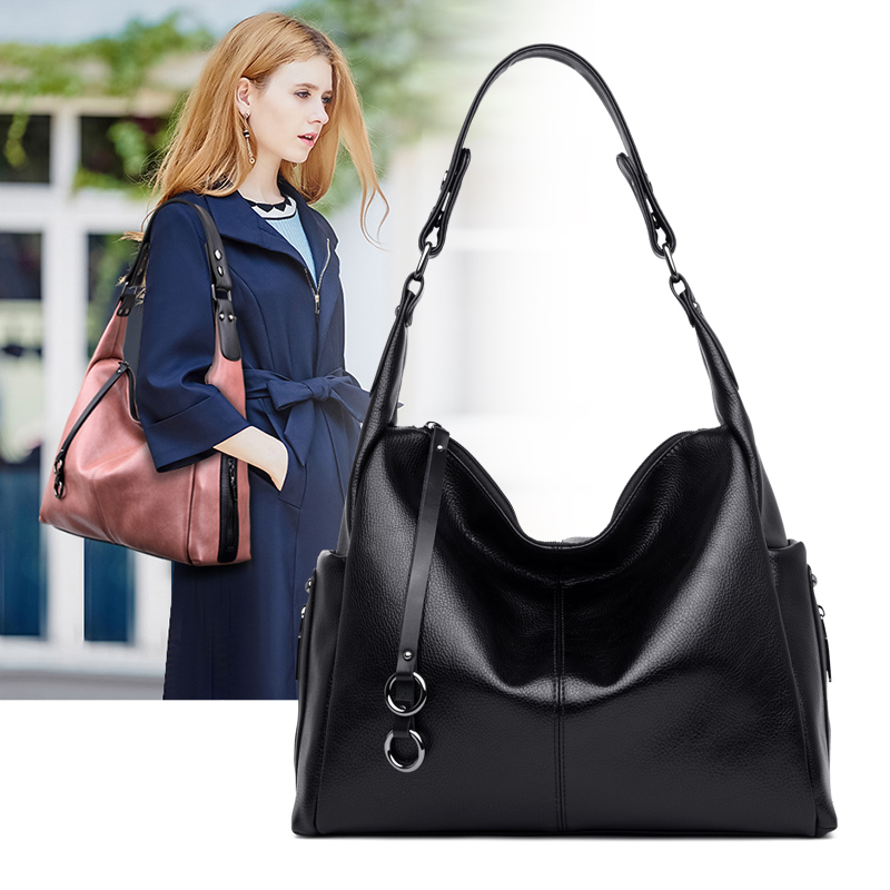 2019 New European and American Style Women Totes Leather Ladies Clutch Single Shoulder Bags Crossbody Bags Soft Fashion Handbags