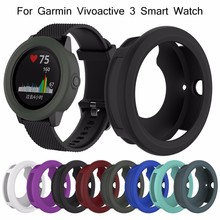 New Soft Silicone Protector Case Cover Shell For Garmin Vivoactive 3 Smart Watch