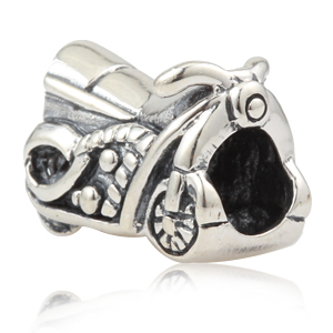 333f5292a Silver motorcycle charms 925 sterling silver big hole beads Fits for Pandora  Bracelets free shipping
