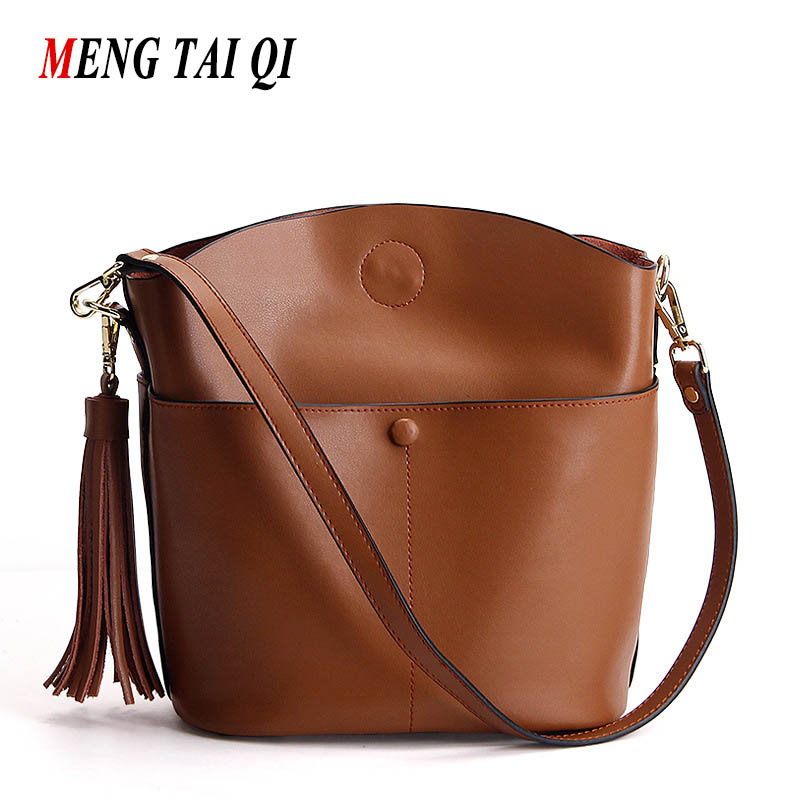 ФОТО New Arrival Women Bag Genuine Leather Shoulder Crossbody For Women Bags Luxury Designers Hot Sale New Fashion Famous Brands 4