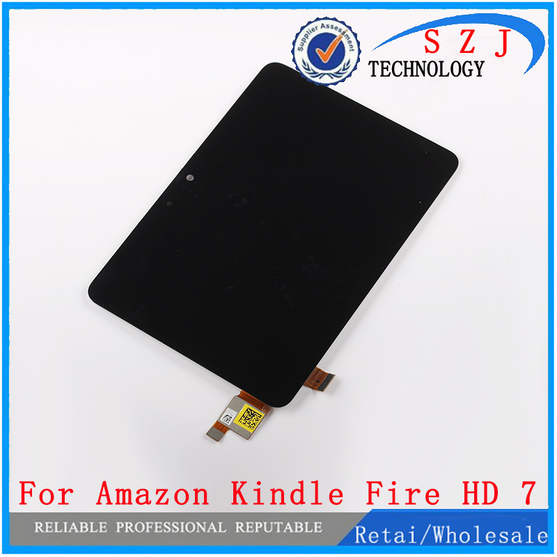 New 7 inch case LD070WX3 For Amazon Kindle Fire HD 7 HD7 LCD Display Screen + Digitizer Touch Sreen LD070WX3-SL01 Free shipping free shipping for kindle fire hdx 8 9 lcd display screen digitizer 100