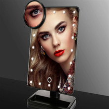 LED Mirror Vanity Lights with Touch Dimmer Switch Battery Stand for Tabletop Bathroom Bedroom Travel Tocador De Maquillaje Lamp
