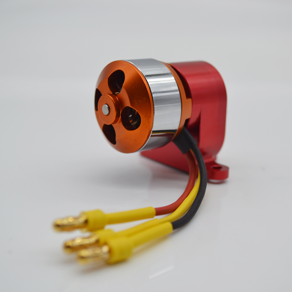 Miracle Smoke Pump With Brushless Motor ESC For RC Gasoline Engine Airplane Model Accessory Parts miracle twin power switch with fuel dot futaba jr plug cables for rc gasoline airplane boat red color