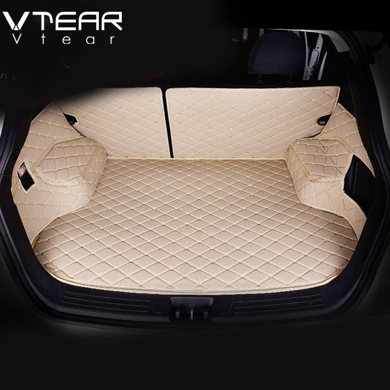Vtear Per Hyundai ix25 Creta Cargo Liner bagagliaio di un'auto Zerbino tappeto Pavimento interno Zerbino s pad in pelle auto-styling prodotti accessori