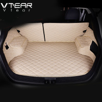 Vtear For Hyundai ix25 Creta Cargo Liner car trunk mat carpet interior Floor Mats leather pad car styling products accessory