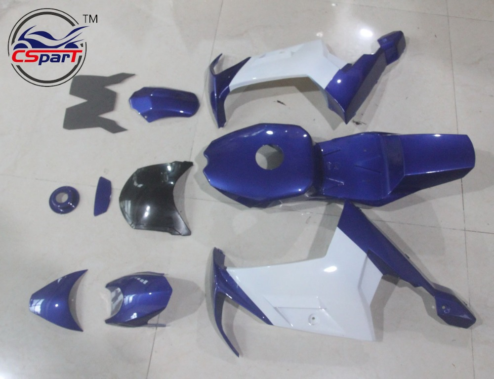 Plastic Fairing Kit Fender Plate Guard Cover for Mini Moto Pocket Bike Fairing Body Kit Plastic 39CC MT A4 2017 new 38mm cylinder