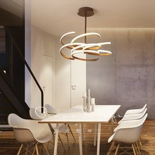 Creative Modern LED Pendant Lights Brown hanging lamp For Living Room Dining Room Pendant Lamp Home Lighting luminaire suspendu creative simple modern led pendant lights for living room dining room kitchen lampara de techo pendant lamp indoor home lighting