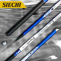 Hot Sale Ultralight Superhard 3.6/4.5/5.4/6.3/7.2 Meters Stream Hand Pole Carbon Fiber Casting Telescopic Fishing Rods