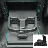 beler 1Pc Black 1K0862532 Black Rear Armrest Central Console Cup Holder For VW Volkswagen Jetta MK5 Golf GTI MK6 EOS RABBIT