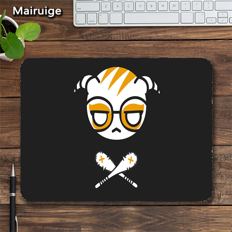 Mairuige Rainbow Six R6 Gaming Mouse Pad Icon Head Image Logo Customized FPS Game Pad for Csgo Gaming MousePad As Gift Table Mat