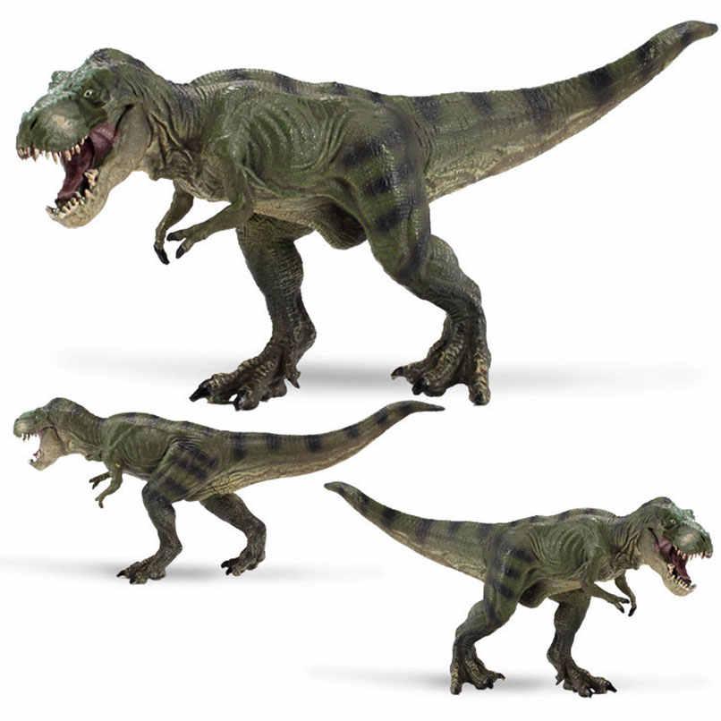 Моделирование 3D Динозавры юрского периода фигурки модели игрушки пластиковое виниловое коллекция орнамент украшение модель игрушки Дети обучения реквизит