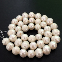 Hot Free Shipping New 2014 Fashion Style Diy 5 Strands 6 7mm White Freshwater Pearl Round