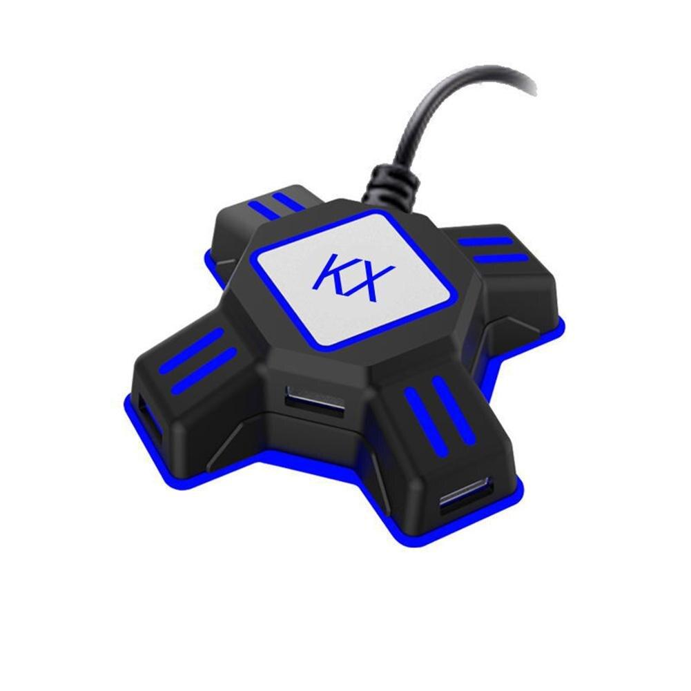 Kx Usb Juego De Controlador De Convertidor Teclado Ratón Adaptador De Interruptor/xbox/ps4/ps3 Convertidor Teclado Ratón Volumen Grande