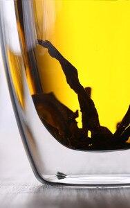 Image 5 - Marque 5 taille sans plomb Double paroi verre fait main résistant à la chaleur thé café boisson tasse isolé verre clair Drinkware