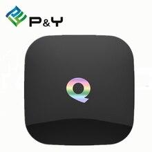 Caixa de TV Qbox S905X Q-Box Amlogic Quad Core OS Android 5.1 Dual banda Wifi 2.4G e 5G Preinstall Kodi 16.0 BT 4.0 1 PCS Vensmile