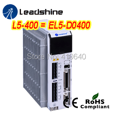 ! Leadshine L5-400 AC Servo Drive 187-240 VAC input 2A Rated / 8A Current Powering Up to 400W Motors