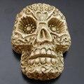 3 Unids/lote Cráneo de La Resina Del Camafeo Cabochons de La Joyería DIY Accesorios Decoración 50002