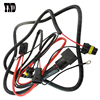 YND 1 set H11 880 Relay Wiring Harness For HID Conversion Kit, Add-On Fog Lights, LED DRL