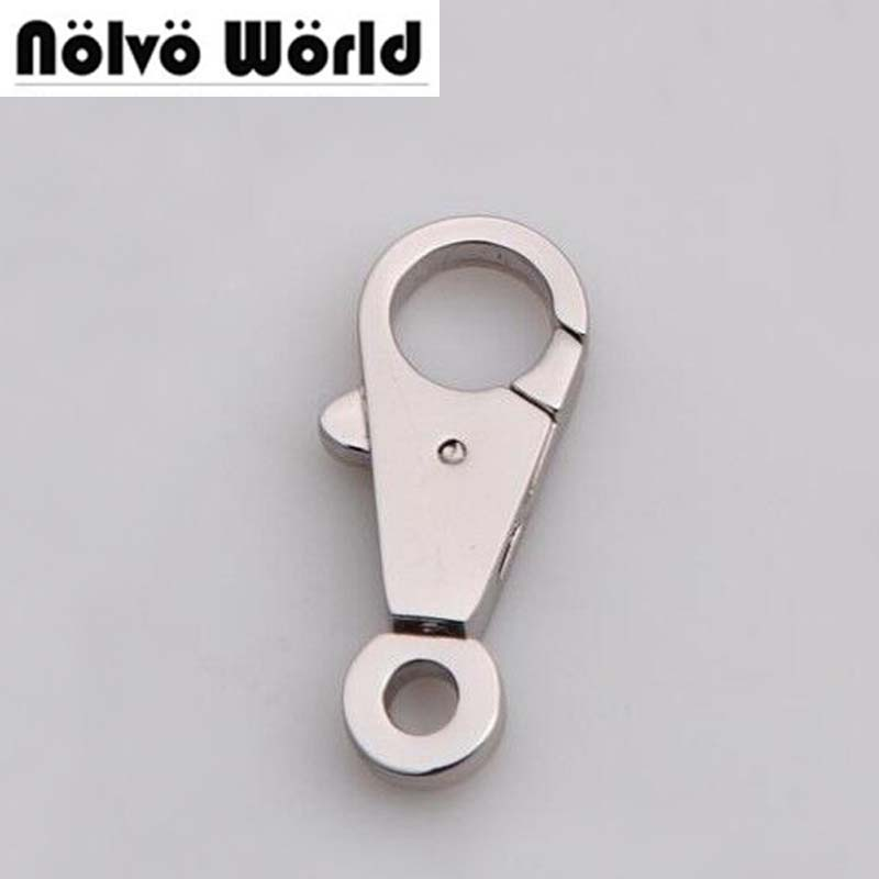 5mm silver trigger snap hook swivel snap hooks hardware,high quality nickel small hook clasp,DIY dog leash metal factory owner 52567 16 hooked snap swivel 9 шт